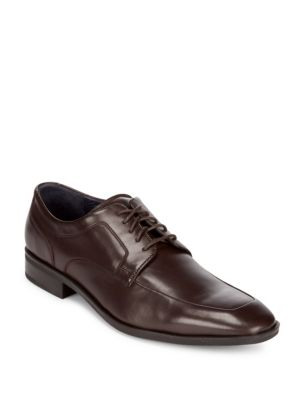 Martino Apron Toe Leather Oxfords Cole Haan