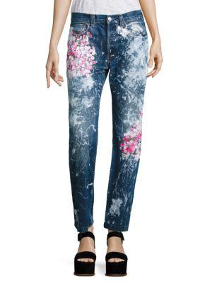 Vintage 501 Cherry Blossom Boyfriend Jeans Rialto Jean Project