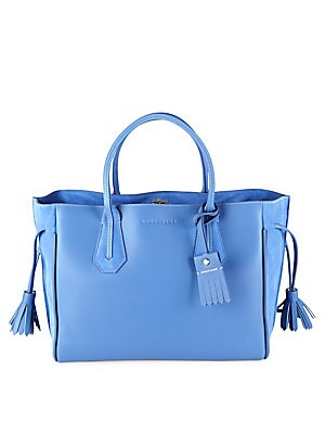 Penelope Zipped Leather Tote