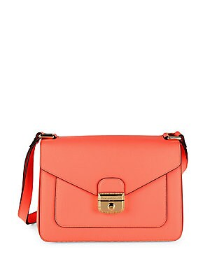 Le Pliage-Heritage Leather Foldover Satchel