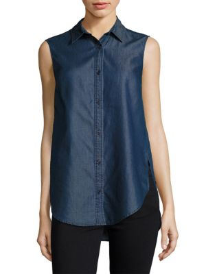 Chambray Top French Connection