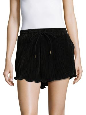 Pleated Drawstring Shorts MINKPINK