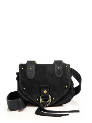 COLLINS LEATHER SADDLE CROSSBODY