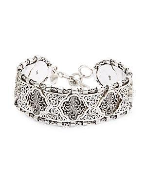 Sterling Silver Tribal Bracelet
