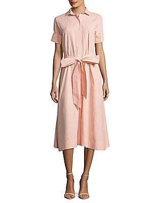 Check Cotton Beach Skirt