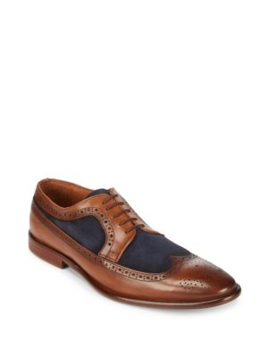 Lace-Up Leather Derbys Kenneth Cole