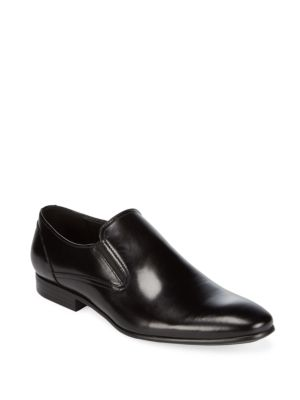 Leather Almond Toe Loafers Kenneth Cole