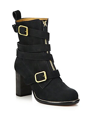 Colby Calfskin Leather Booties