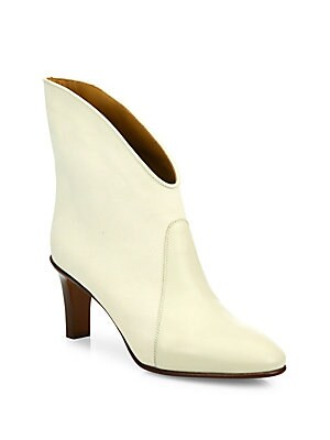 Kole Leather & Suede Ankle Booties