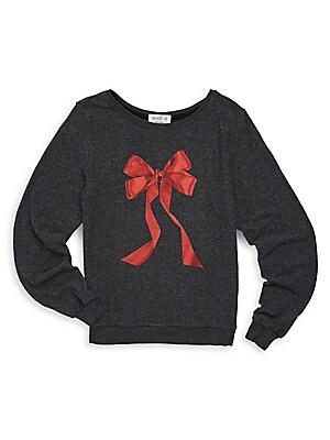 Girl's 3D Graphic Sweatshirt