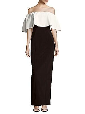 Colorblock Popover Dress