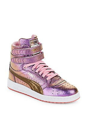Sky Metallic Sneakers