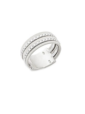Click here for Diamond and 18K White Gold Ring prices