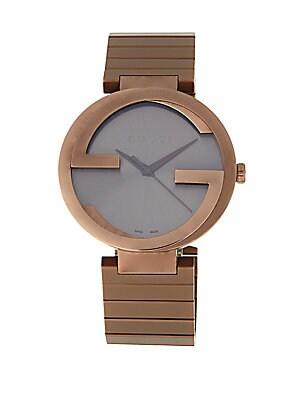 PVD Stainless Steel Bracelet Watch