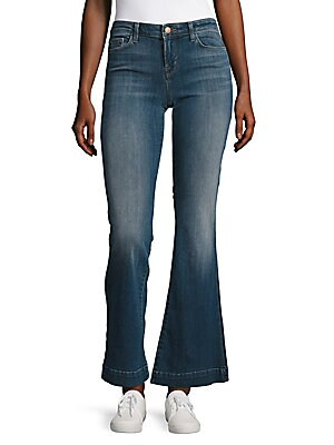 Another Love Story Faded Bootcut Jeans