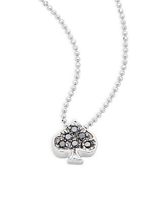 Click here for Little Vegas Black Diamond & 14K White Gold Spade... prices