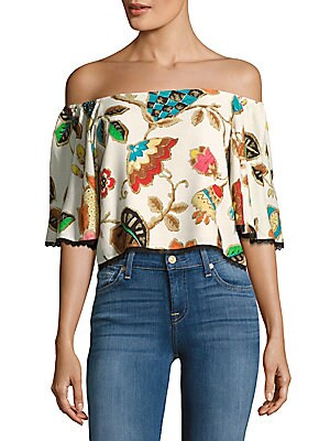 Amina Off-the-Shoulder Blouse