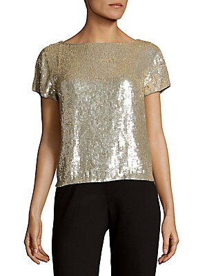 Sarita Sequin Top