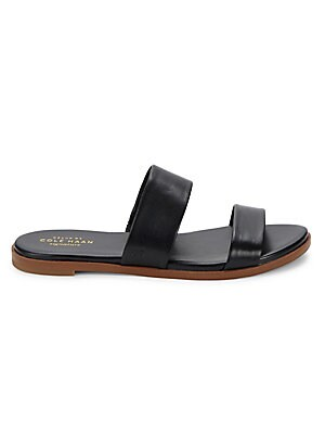 Findra Leather Slide Sandals
