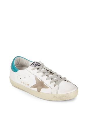 Lace-Up Leather Sneakers Golden Goose Deluxe Brand