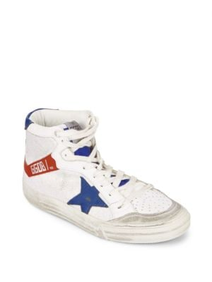 Round Toe Lace-Up Sneakers Golden Goose Deluxe Brand