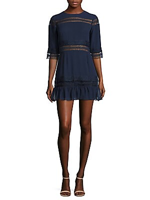 Asher Lace Detail Sheath Dress
