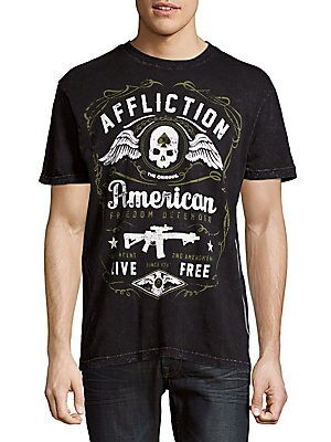American Defend Cotton Tee