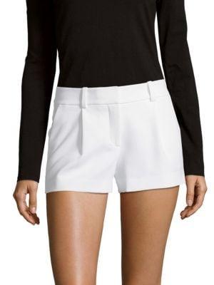 Naples Zippered Shorts Diane von Furstenberg