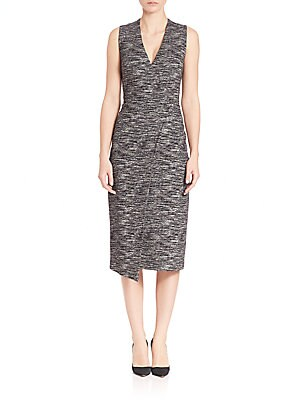 Carissa Faux Wrap Dress