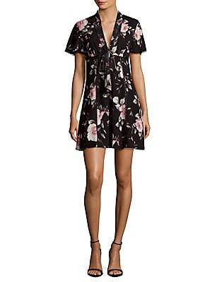 Alena Floral-Print Dress