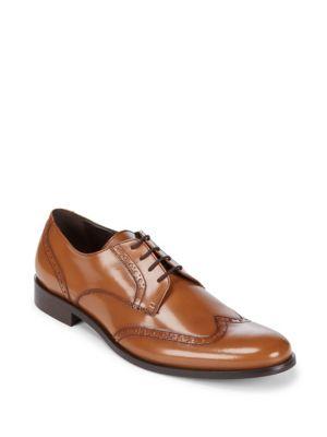 Leather Brogue Derbys A. Testoni