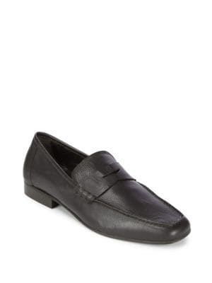 Penny Leather Loafers A. Testoni