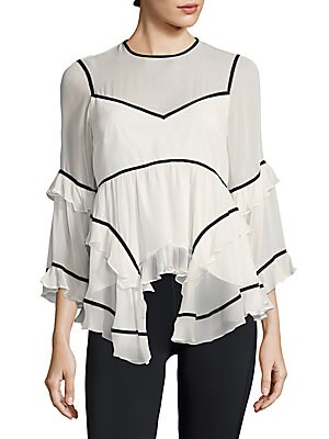 Melodie Ruffled Top