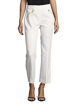 rachel zoe female reign solid straight pants