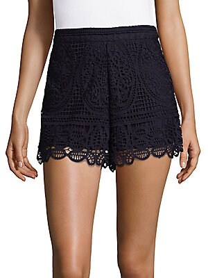 Night Bloom Lace Shorts
