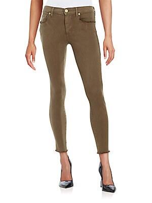 Halle Super Skinny Cropped Jeans