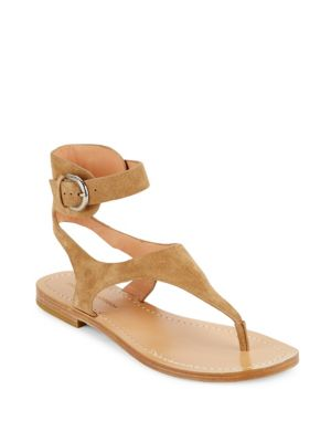 Sigerson Morrison Leather Buckle Sandals Collections Buy Cheap Shop Offer Visit For Sale Exclusive Cheap Price HzmX6a2