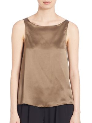 Sleeveless Silk Top ATM Anthony Thomas Melillo