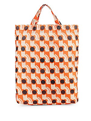 Poppy Cat Print Tote