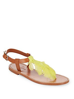 Italian Leather Thong Sandals