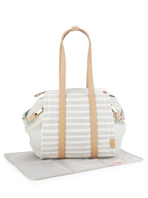 HIGHLINE STRIPE DIAPER BAG