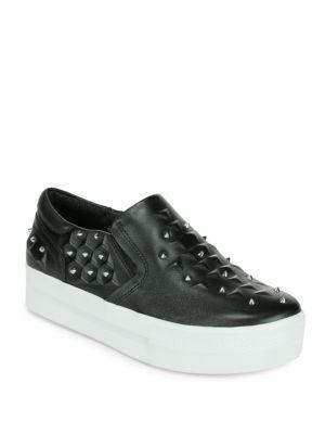 아쉬 ASH joke studded leather platform sneakers