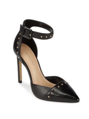 Point-Toe Studded Pumps