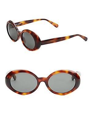 53MM Oval Sunglasses