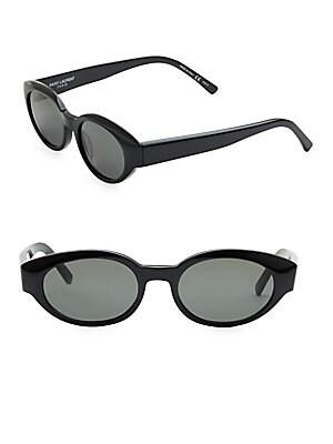 51MM Oval Sunglasses