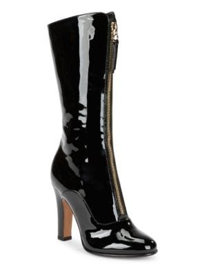 CLASSIC LEATHER MID-CALF BOOTS