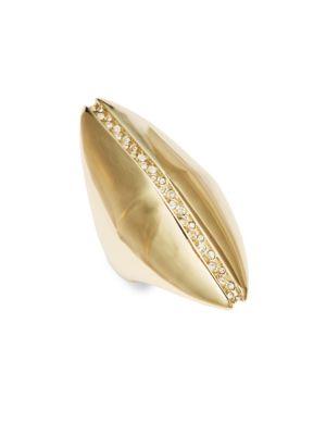Crystal Polished Midi Ring Alexis Bittar