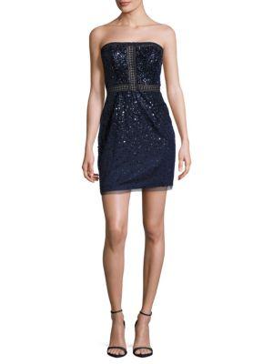 Sequined Zip Dress