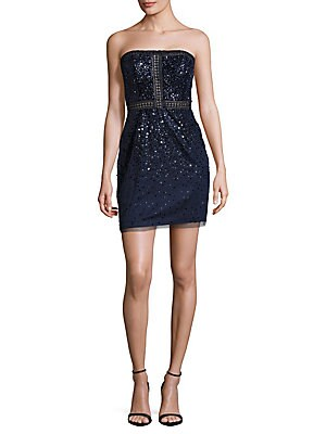Sequined Zip Dress