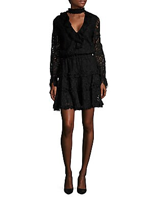 Catalina Choker Lace Dress